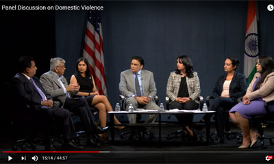 Domestic Violence Panel on TV Asia
