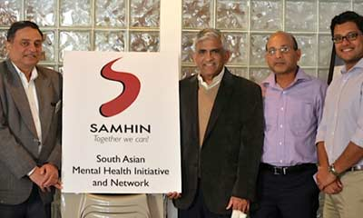 SAMHIN at Central NJ Indian Lions Club Health Camp