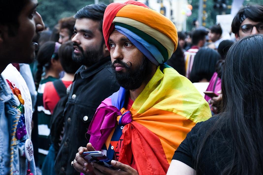 LGBTQ parade in New Delhi