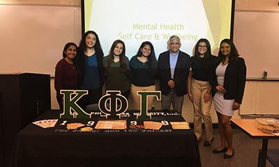 Mental Health Workshop - Kappa Phi Gamma Sorority at Rutgers University